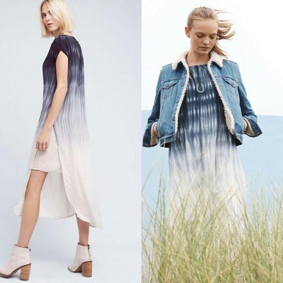 cloth & stone Dresses & Skirts - Cloth & Stone Horizon Fade Tie Dye Tunic Dress